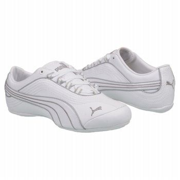 Athletics Puma Women's Soleil White Silver size 8 1/2