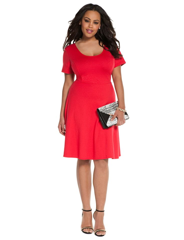 pictures of plus size dresses