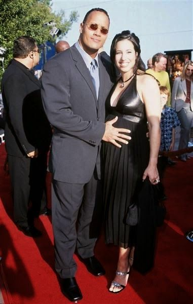 """We're gonna take a look for Dany Garcia (m. 1997–2008) which is the old wife of the american actor and wrestler Dwayne Johson """"The Rock"""" Image Source: Google"""