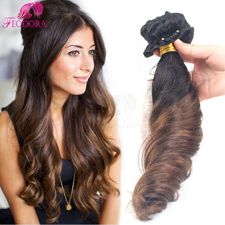 Ombre Clip In Human Hair Extensions Sale Clip In Hair Extensions Brazilian Virgin Human Clip In Hair For Black Women 10pcs 7pcs