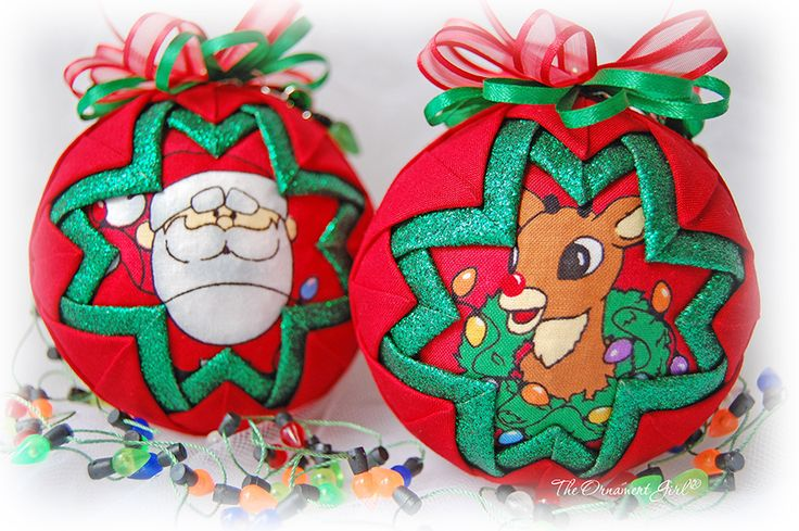 7 Ideas for your Handmade Christmas Ornaments.