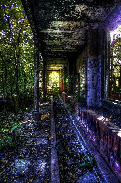 Urban Exploration (Springburn, Glasgow), via Flickr.