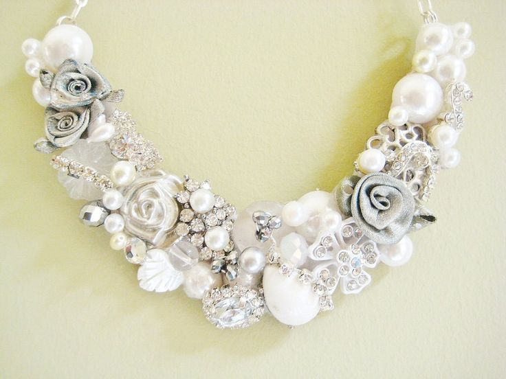 Handmade Bridal Jewelry Necklace