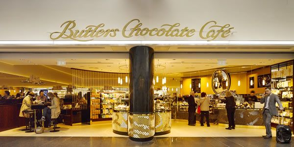Butlers Chocolates opens new café at Dublin Airport Terminal 1 | TheMoodieReport.com