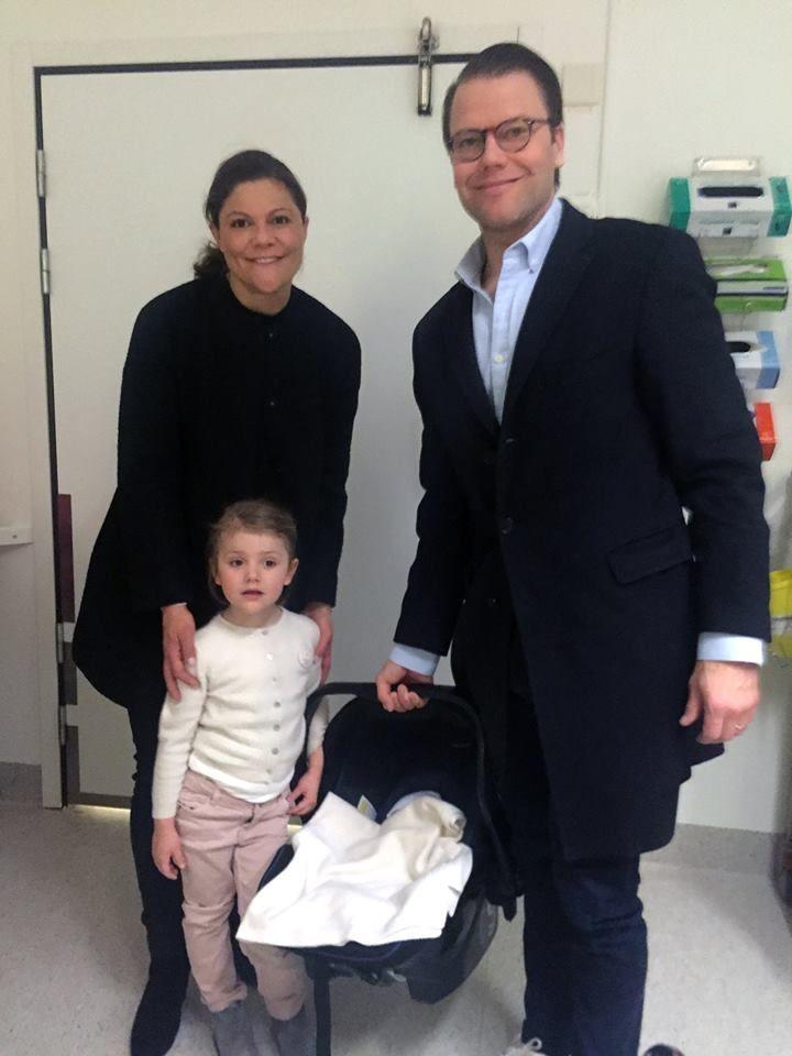 3 marzo 2016. E' nato SAR Principe Oscar Carl Olof, duca di Skåne, secondogenito di principessa Vittoria e Daniel