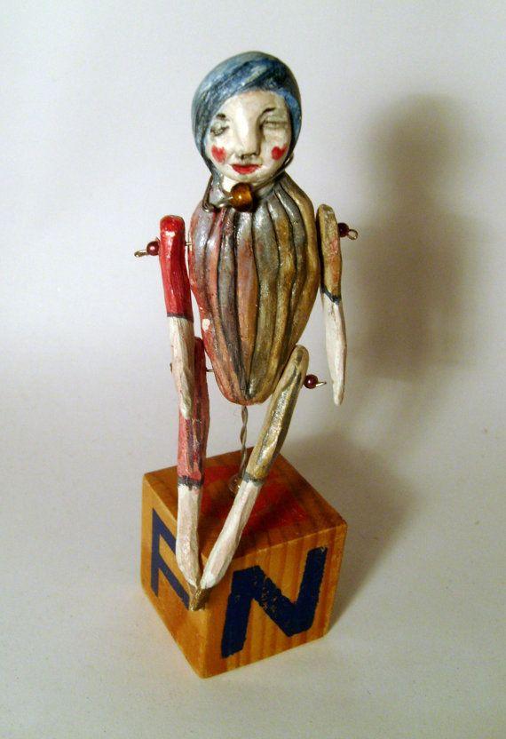 Puppe... von MizumiART auf Etsy, $40.00