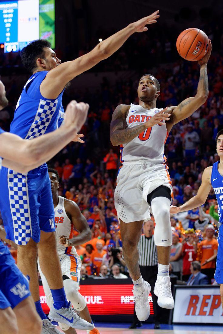 Florida Gators basketball photo gallery from Kentucky game