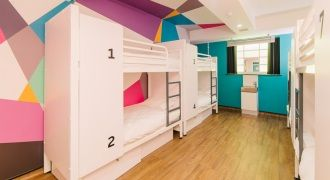 Fun and modern: Generator Hostel, London.