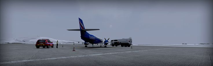 Sumburgh Airport - ORBX - review (5*****) • C-Aviation #FSX #Review #ORBX #Sumburgh #UK #Scotland