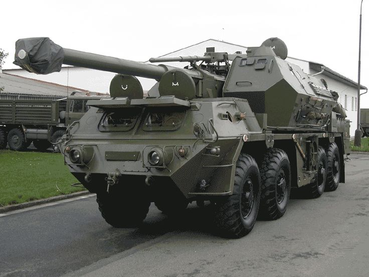 Tatra self-propelled howitzer DANA