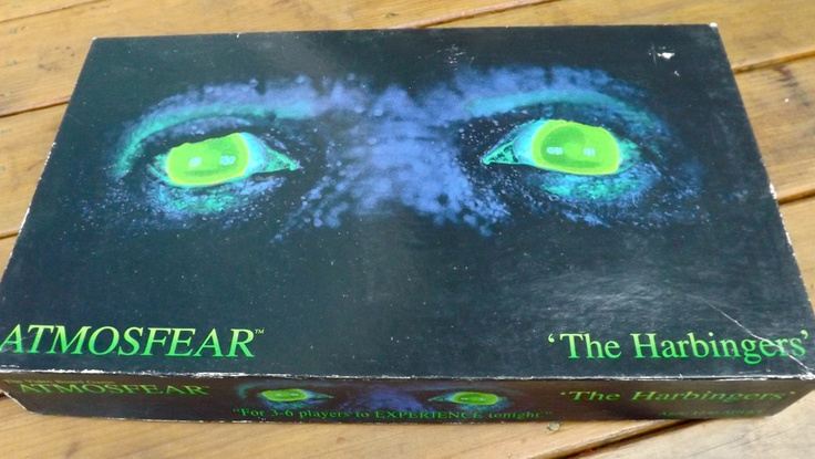 Atmosfear board game(I still have this game and I still love to play it!!)