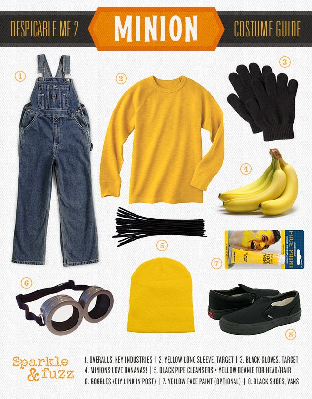 The Best Minion Costume Ideas #DIY for Halloween