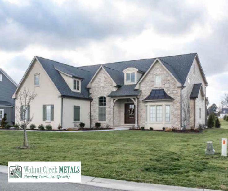New Metal Roof Metal Roofing Contractors Standing Seam Metal Roof Installation