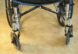 Pad your wheelchair's sharp edges