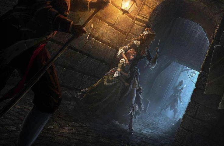 Assassin's Creed Unity Concept Art