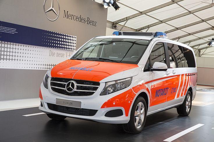 Mercedes benz einsatzfahrzeuge emergency services for Mercedes benz emergency service