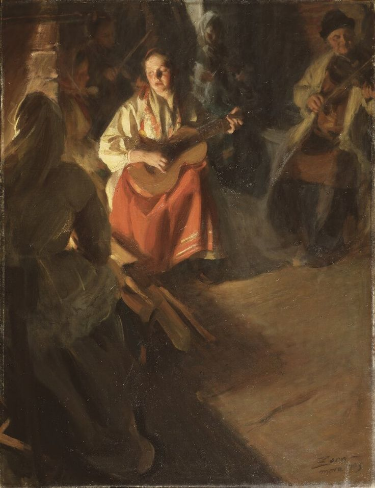 A Musical Family | Anders Zorn | 1905 | Nationalmuseum, Sweden | Public Domain Marked