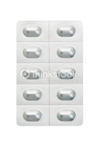 Stock-Foto : Medicine In Blister Pack