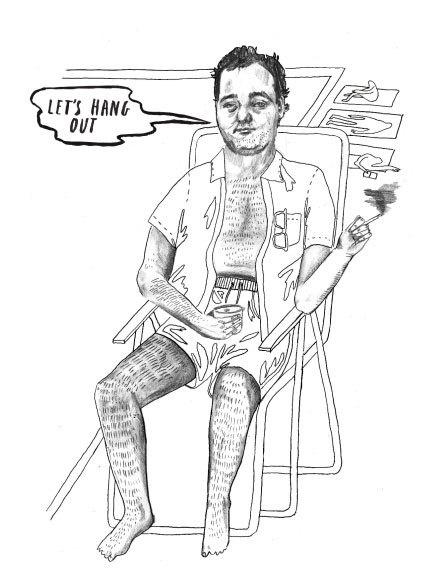 Amazing Thrill Murray Coloring Book 22 Bill Murray Coloring Book