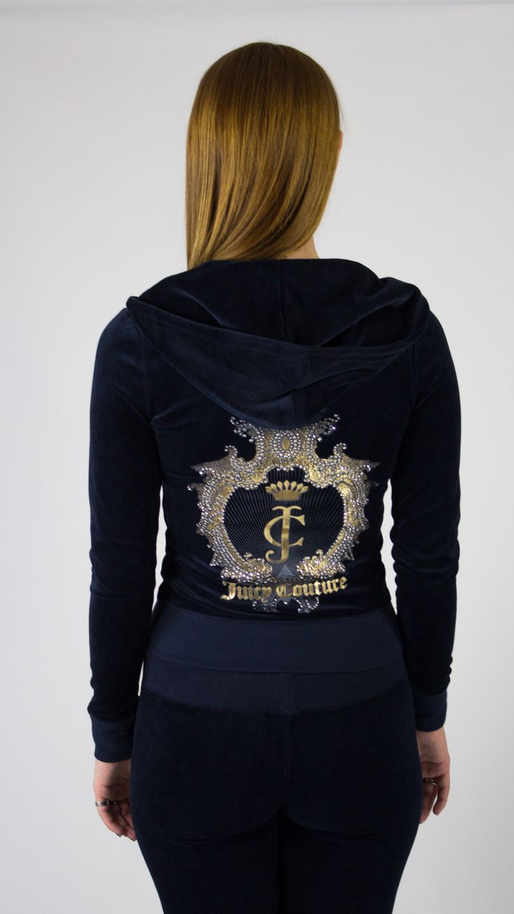 Juicy Couture Logo Velour Original Jacket