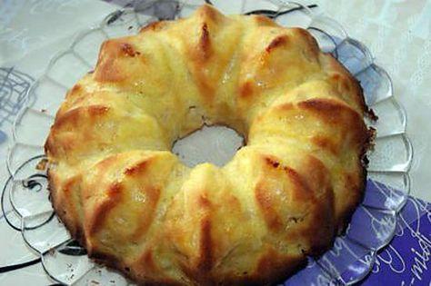 Gâteau aux pommes Alsacien