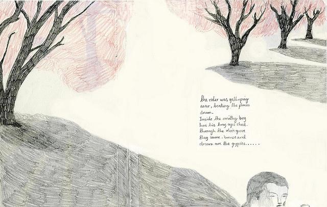 """""""Frederico Garcia Lorca Poem"""" by Melissa Castrillon, via Flickr"""