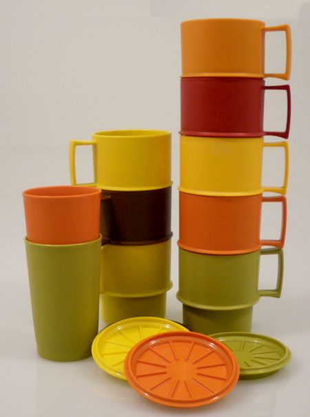 70s Tupperware Plastics .