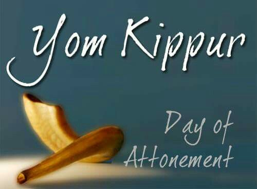 Yom Kippur -- Day of ATONEMENT