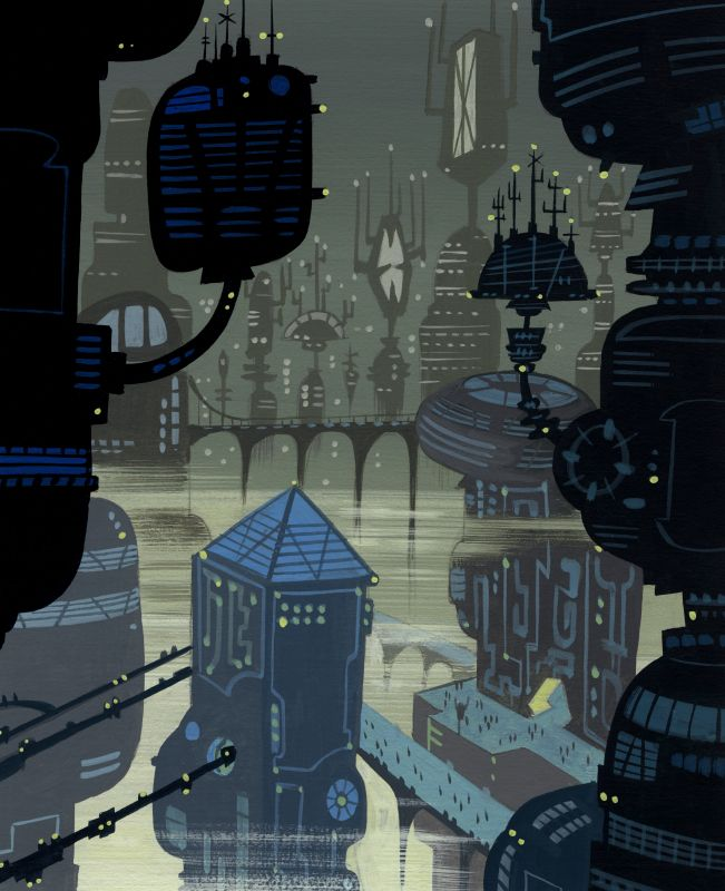 Flooby Nooby: Samurai Jack Background Art via PinCG.com