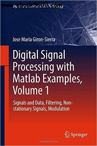 40 best matlab images on pinterest free ebooks coding and digital signal processing with matlab examples volume signals and data filtering non stationary signals modulation free ebook fandeluxe Choice Image
