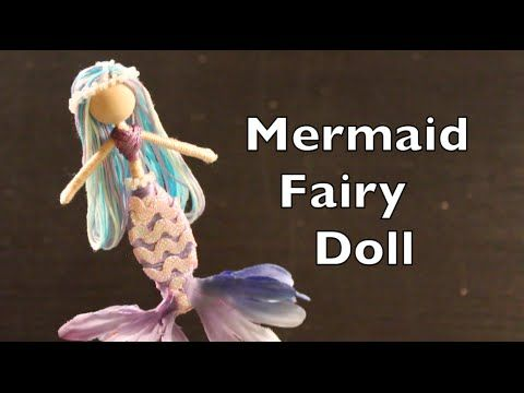 This DIY tutorial on how to make mermaid fairy dolls will walk you step by step through how to make this cute little mermaid fairy doll. I have to say right ...