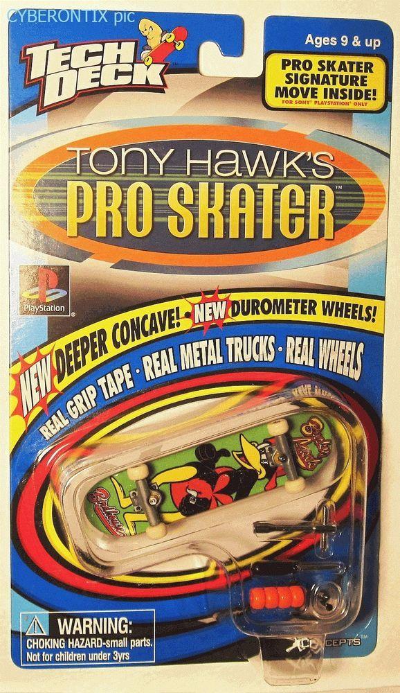 1999 Tech Deck Birdhouse BUCKY LASEK Tony Hawk Pro Skater