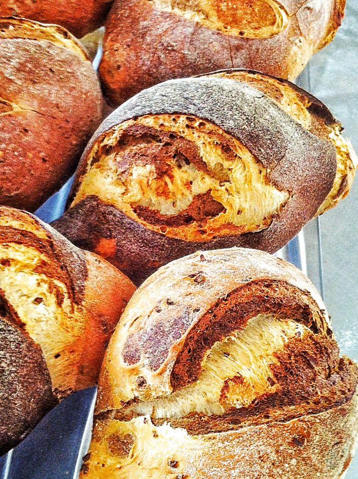 Pane marmorizzato - con farina di soia, di segale e ai 5cereali  www.chicchedigrano.com