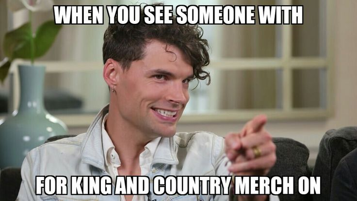 for King & Country meme - Life throws you curves. Being prepared is…