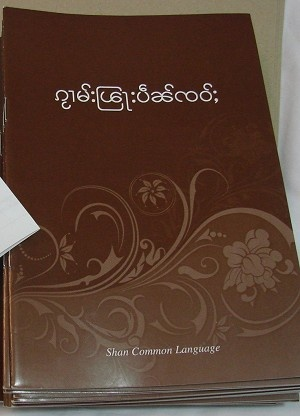 Shan Common Language Gospel of Mark / Shan is related to the Thai language and is called Tai-Yai, or Tai Long in the Tai languages. It is spoken in Northeast Burma, that is to say, in the Shan States of Burma, and in pockets in Northern Thailand