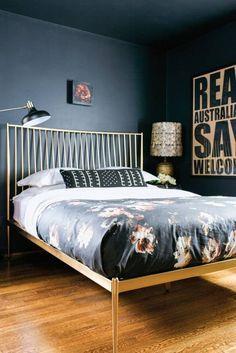 Check on www.prettyhome.org - dark walls  ceiling