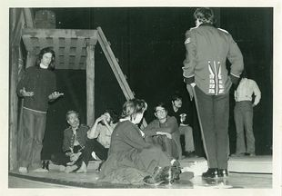 Martin Hunter, left, Directing, Hart House Theatre. Sergeant Musgrave's Dance, 1972