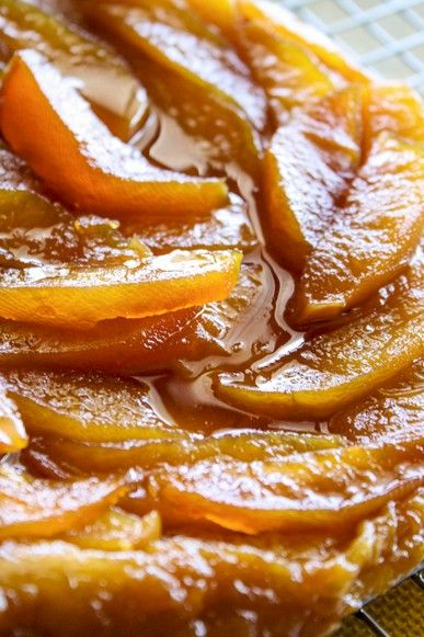 Lala's Apple Tart Mix together 2Tbls Margarine, 1cup Sugar & 2 Eggs Add 1cup Flour, 1tsp Baking Powder, a quarter tsp of salt & a quarter cup of Milk Dish dough into a baking dish & press a can of apple slices into mixture Bake for 30min at 380 degree  For syrup, In a pot, Mix 1cup Sugar, 1can of Ideal Milk & half a tsp of Vanilla Essence. Bring mixture slowly to boil while stirring continuously & boil for 1min. Pour syrup over Tart while still hot when removed from oven