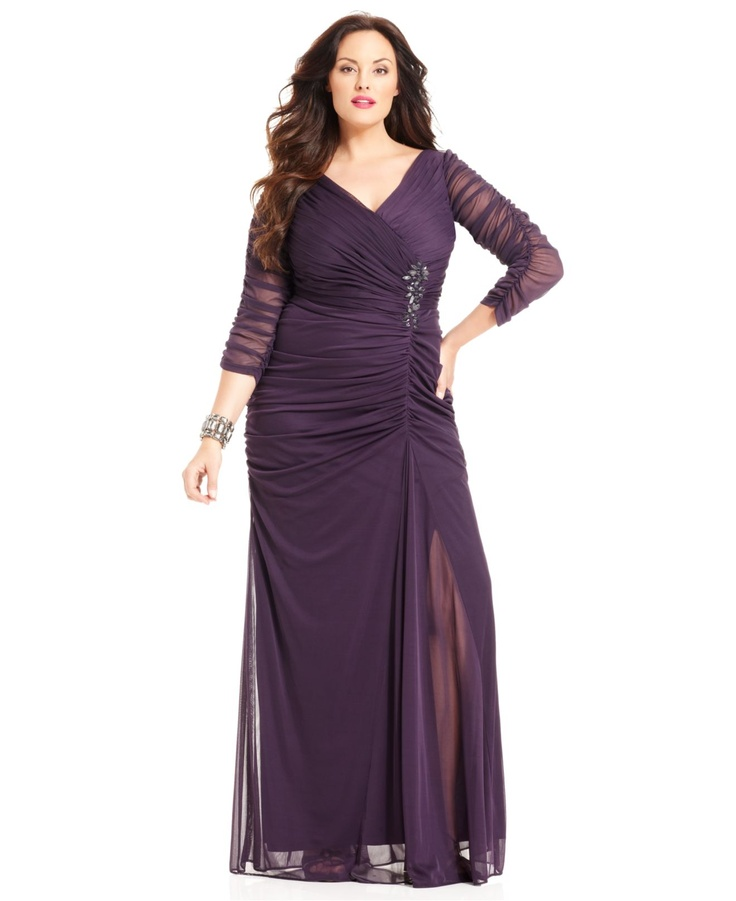 t duration plus size wedding attire