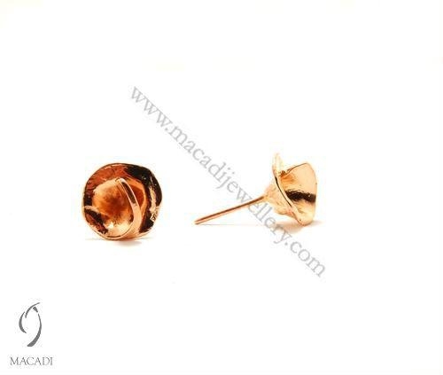 Rose Gold Cadenza Earrings