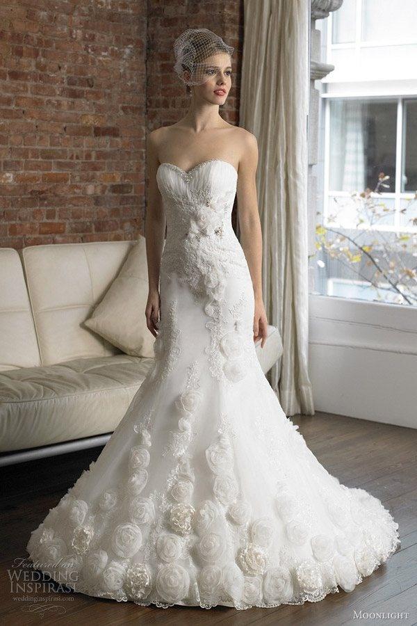 fancy mermaid ~: Dresses Wedding, Wedding Dressses, Mermaids Wedding Dresses, Lace Wedding Dresses, Mermaids Bridal Gowns, Colors Wedding Dresses, Dresses Collection, Vintage Wedding Dresses, Wedding Plans Ideas
