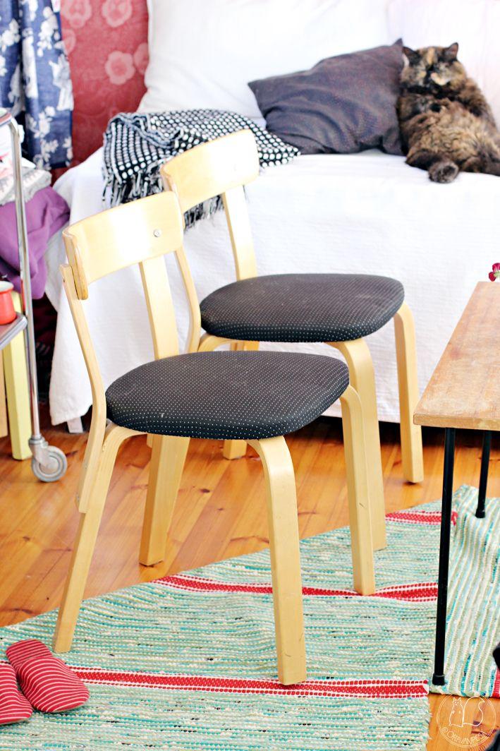 Oravanpesä | Aalto 69 tuoli design Alvar Aalto