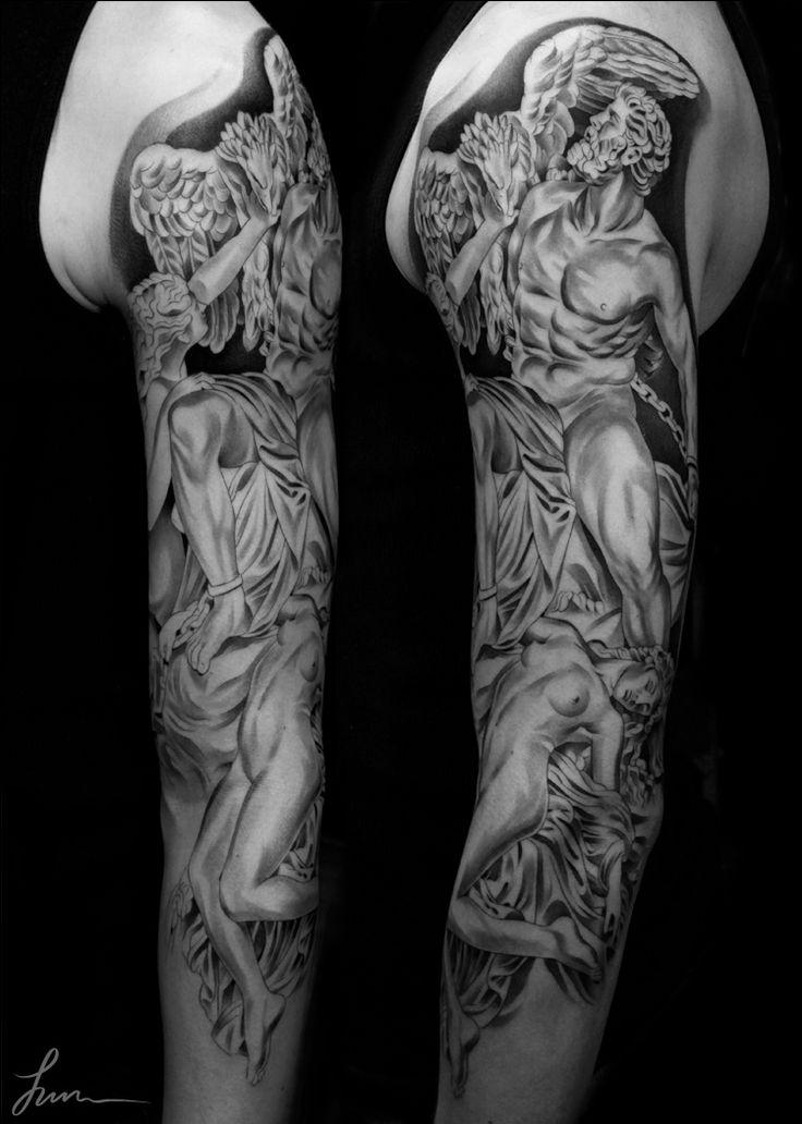 Prometheus tattoo idea 2