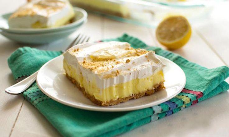Ce gâteau au citron sans cuisson est presque trop facile à faire... Un rêve devenu réalité!