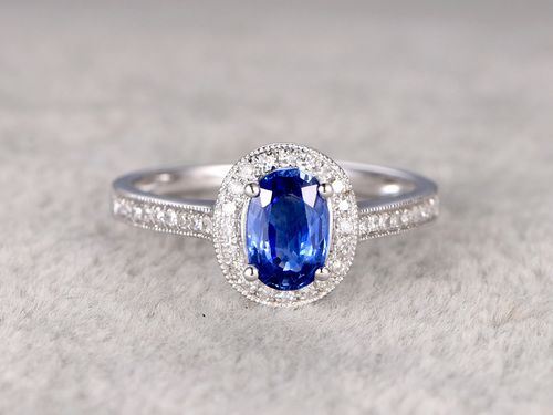 24 best Sapphire Rings images on Pinterest