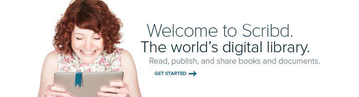 Con scrib compartimos documentos en internet