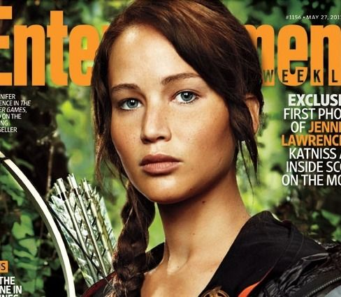 """JL as Katniss and the unfortunate """"Vap"""" pose (as in vapid) so often styled on models and actresses: Cant Wait, The Hunger Games, Katnisseverdeen, Movies, Book, Hungergam, Katniss Everdeen, Magazines Covers, Jennifer Lawrence"""