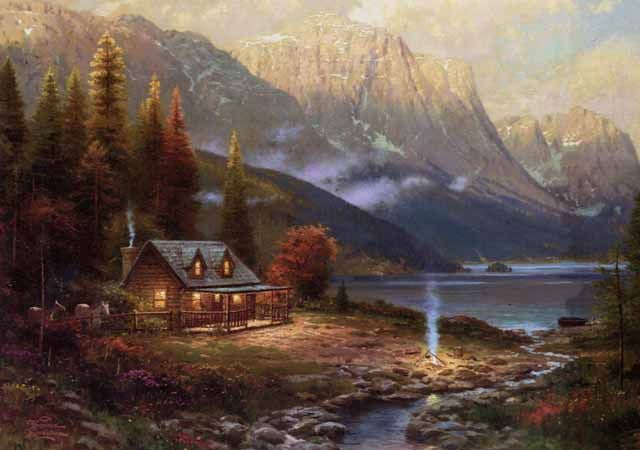Thomas Kinkade Most Expensive Painting | Recent Photos The Commons Getty Collection Galleries World Map App ...