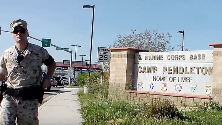U.S. Marines Accuse Man Photographing Base from Public Sidewalk of Breaking Federal Law