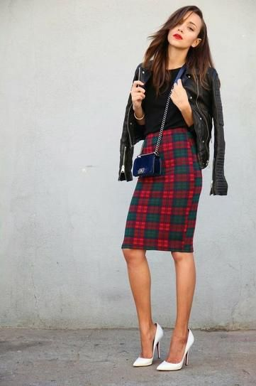 12 Creative Ways to Wear Plaid This Fall